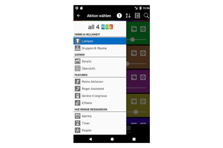 Die All 4 Hue App kann weitaus mehr als das Original