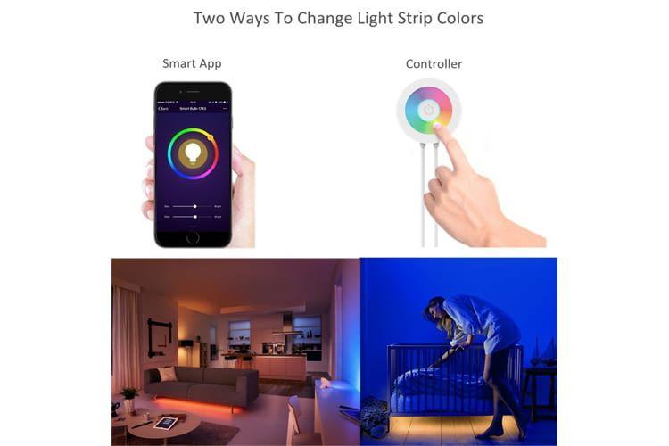 Mit LED-Leuchtstreifen wird's richtig gemütlich