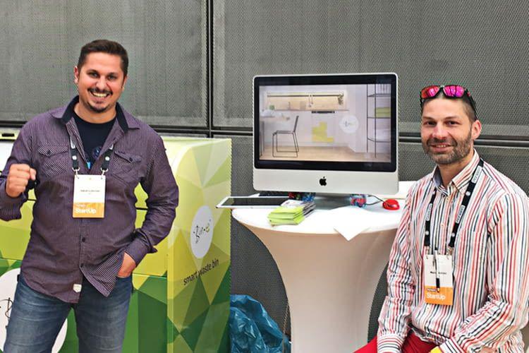 Bin-e-Gründer Jakub Lubonski und Marcyn Lotysz