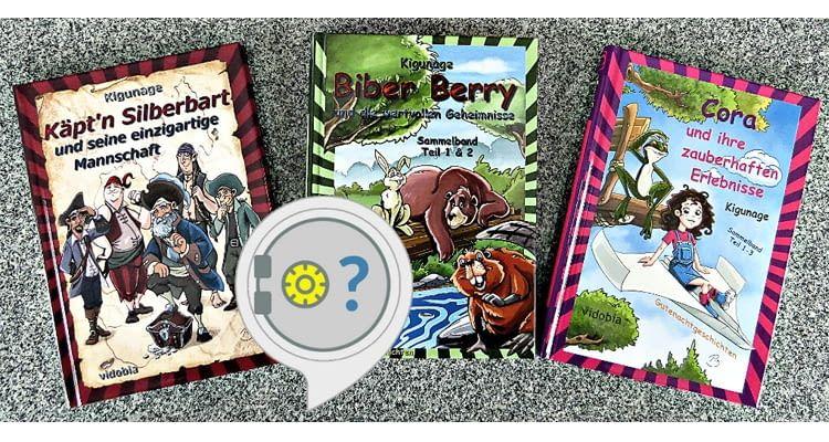 Diese Bücher lassen sich mit dem Geschichtentresor-Skill entdecken