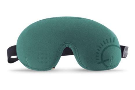 Die Schlafbrille Silent Partner gleicht Schnarchgeräusche aus - beim Schnarcher selbst