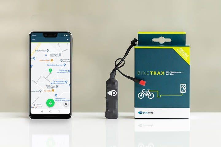 Die Verbindung zwischen Smartphone und E-Bike ist 24/7 aktiv