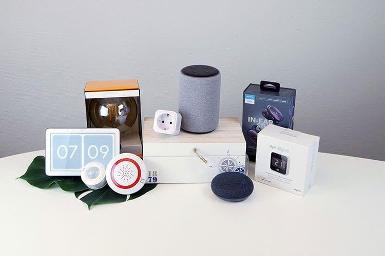 Von der smarten Steckdose über intelligente Leuchtmittel: Wir testen stets auch die Kompatibilität mit Sprachassistenten