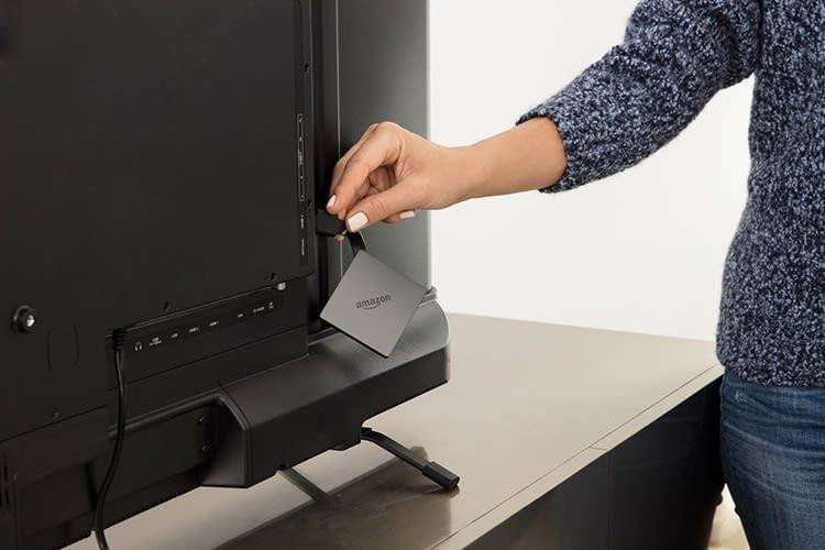 Die Installation der Amazon Fire TV Streaming-Box ist in drei Schritten erledigt