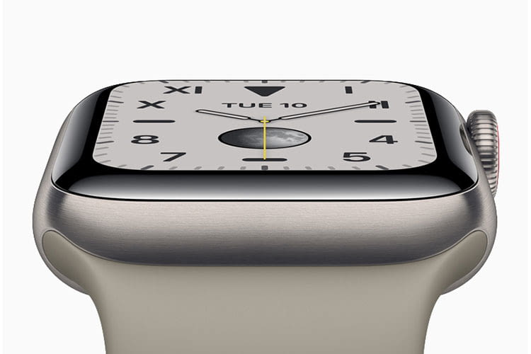 Apple Watch Series 5 ist jetzt auch mit Titanium-Gehäuse erhältlich