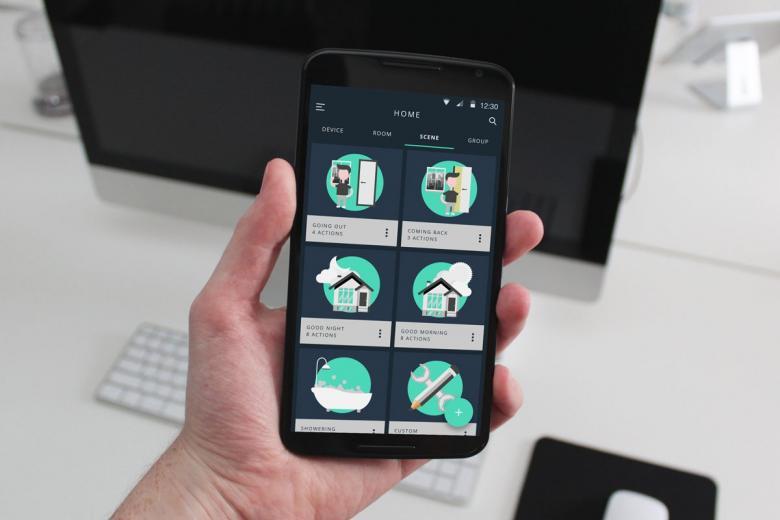 Smart Home Szenarien per App verwalten