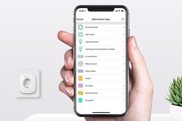 In der Smart Life App befinden sich die WLAN-Stackdosen ganz oben
