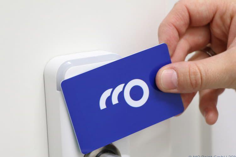 Die Nutzung der MO.Point Mobilitätsangebote verläuft per App oder Zutrittskarte