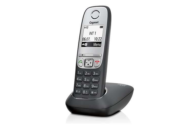 Das Gigaset A415 DECT-Telefon ist ein Basis-Telefon für die unkomplizierte Nutzung am Analog-Anschluss