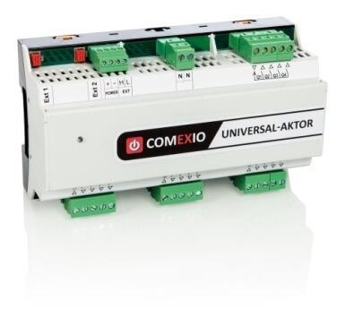 Der COMEXIO Universal-Aktor - Smart Home Gebäude System