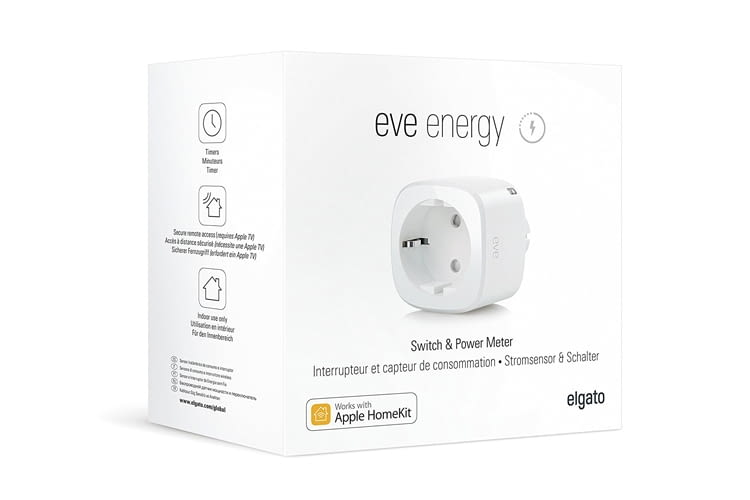 Die Elgato Eve Energy Steckdose ist sogar TÜV zertifiziert