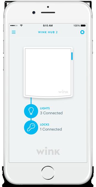 Wink Hub 2 App