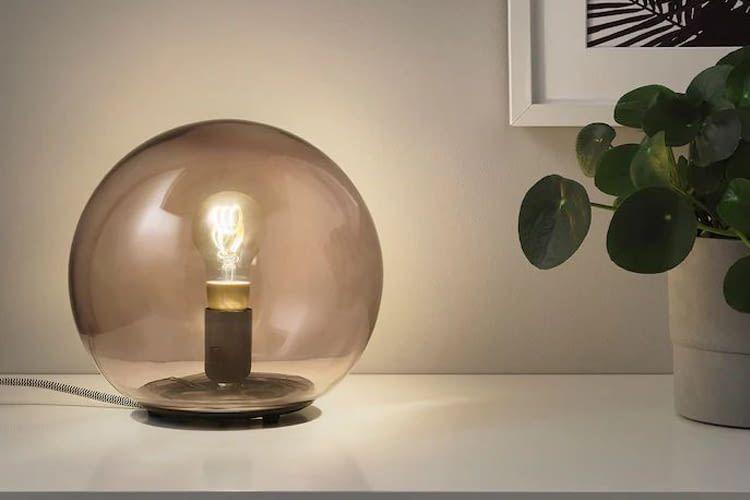 Die TRÅDFRI Filament LED ist für E27 Fassungen gedacht