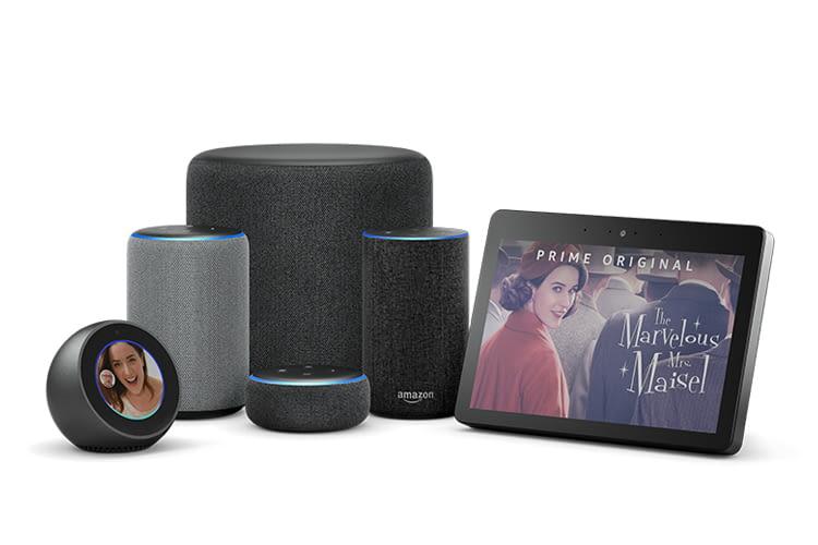 Amazon bietet verschiedene Alexa-Lautsprecher mit und ohne Display an.