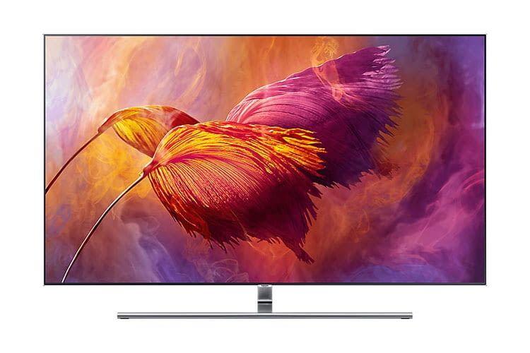 Samsung QE55Q8F mit QLED-Display - 55 Zoll TV mit 10-Bit-Panel und exzellenten Helligkeitswerten