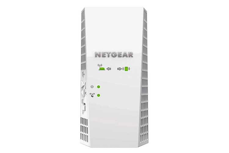 Der Netgear EX7300-100PES Mesh WLAN Router bietet bis zu 2.200 MBit/s WLAN-Leistung