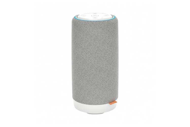 Der Gigaset Smart Speaker L800HX vereint eine DECT-Freisprechanlage mit einem intelligenten Alexa-Lautsprecher
