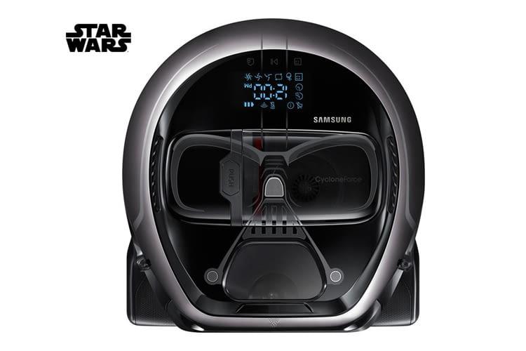 Der Darth-Vader-Saugroboter kann sogar genauso röcheln, wie das Original