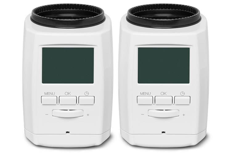 MEDION Smart Home Sparpaket: Zwei smarte Heizkörperthermostate für knapp 90 Euro
