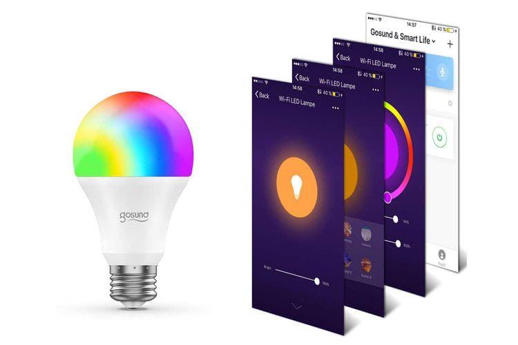 Die Gosund WLAN-LED erhielt bei Amazon durchschnittlich 4 von 5 Sternen