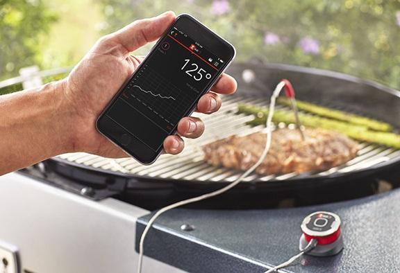 Smartes Grillthermometer iGrill mini von Weber