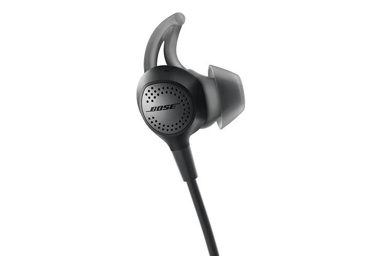 Tragekomfort wird beim Bose QuietControl 30 In-Ear-Kopfhörer groß geschrieben