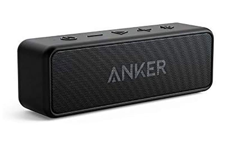 Anker SoundCore 2 Bluetooth Lautsprecher ist wasserdicht nach IPX7 und bietet über 20 h Akkulaufzeit