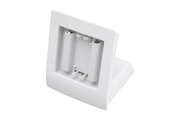 Der Homematic IP Tischaufsteller kann z. B. für das Homematic IP Wandthermostat genutzt werden