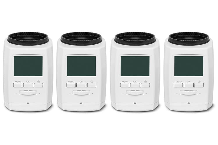MEDION Smart Home Sparpaket: 4 smarte Heizkörperthermostate für knapp 150 Euro