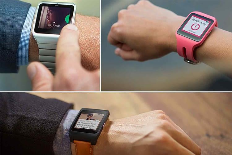 Beim Armband der Sony SmartWatch 3 SWR50 lässt es sich zwischen Leder, rostfreiem Stahl und sportlichen Modellen wählen