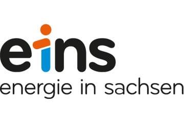 Logo eins energie in sachsen