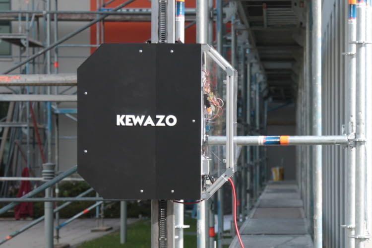 KEWAZO-Roboter sollen den Gerüstbau sicherer, effizienter und kostengünstiger gestalten