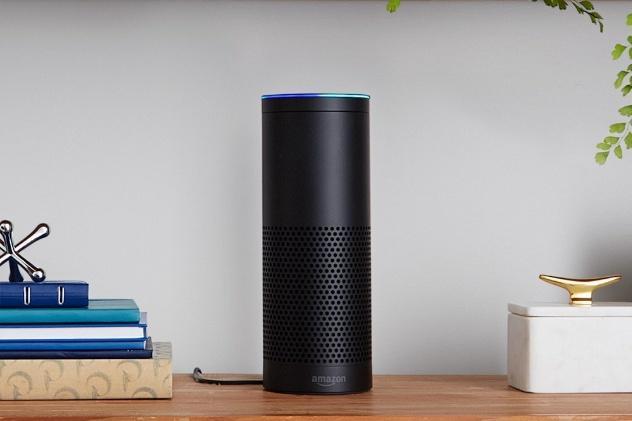 Amazon Echo Lautsprecher mit Sprachsteuerung