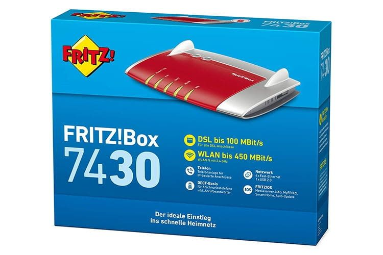 Fritz!Box WLAN Router 7430 Test