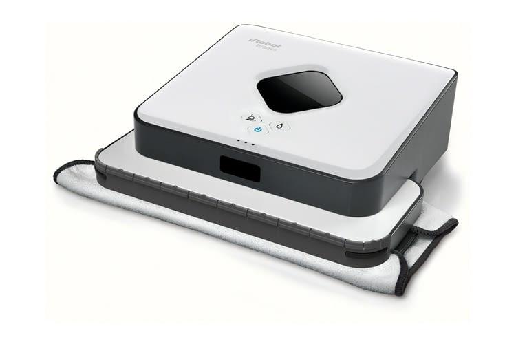 iRobot Braava 390t Bodenwischroboter reinigt laut Hersteller Flächen bis zu 92,9m²