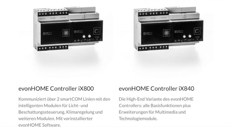evonHOME Controller: Das Herz des Smart-Home-Systems