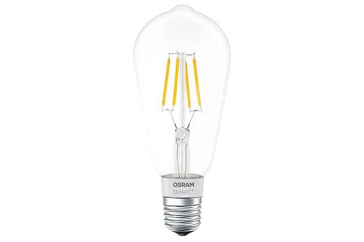 Die Edison Ausführung der OSRAM Smart+ Filament Leuchte hat einen besonderen Retro Look