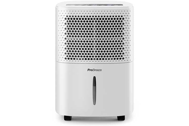 Ist die gewünschte Luftfeuchtigkeit erreicht, schaltet sich der Luftentfeuchter Pro Breeze selbst aus