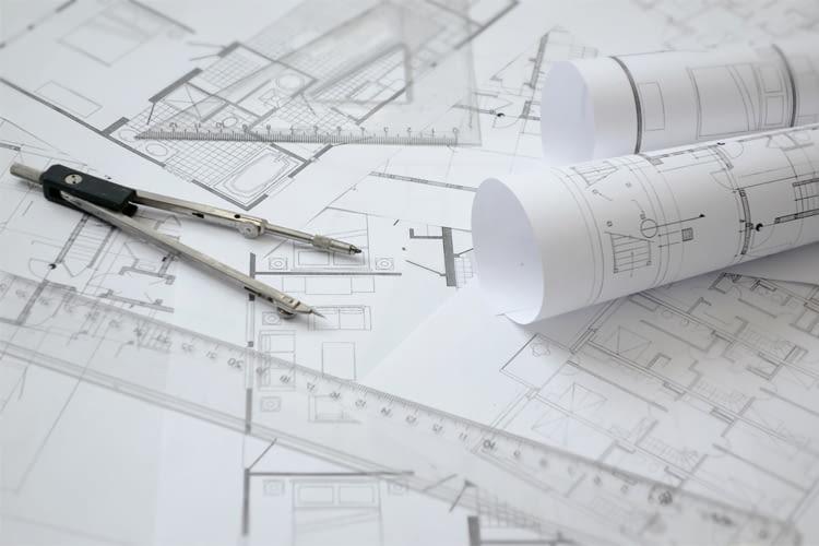 Für die Feinplanung ist meist ein Grundriss im Maßstab 1:50 erforderlich