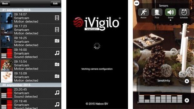 iVigilo Smartcam  ist eine Überwachungskamera App ausschließlich für Apple-Geräte