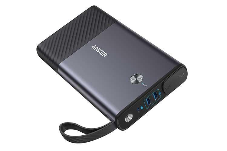Anker PowerHouse Powerbank - Lädt nicht nur Smartphone und Tablet auf, sondern sorgt auch für Licht