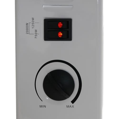 Drei Heizstufen und stufenlose Thermostatregelung: Grafner Elektro-Konvektor