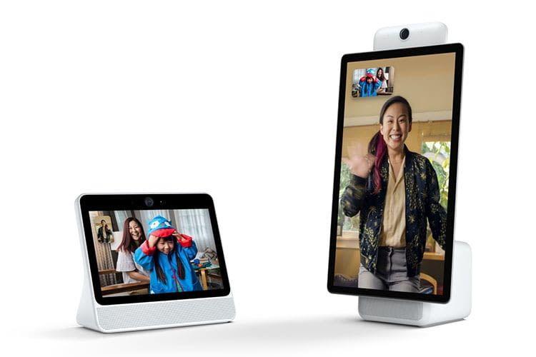Facebooks intelligente Displays Portal und Portal+