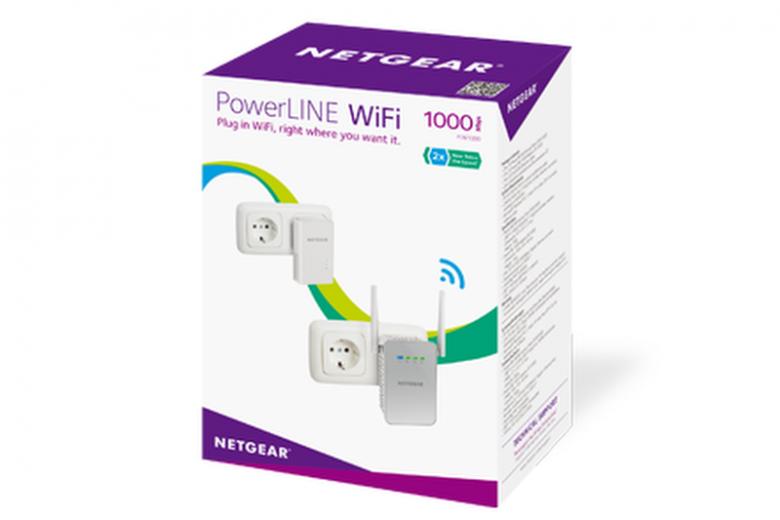 PowerLine WiFi 1000 Produktkarton