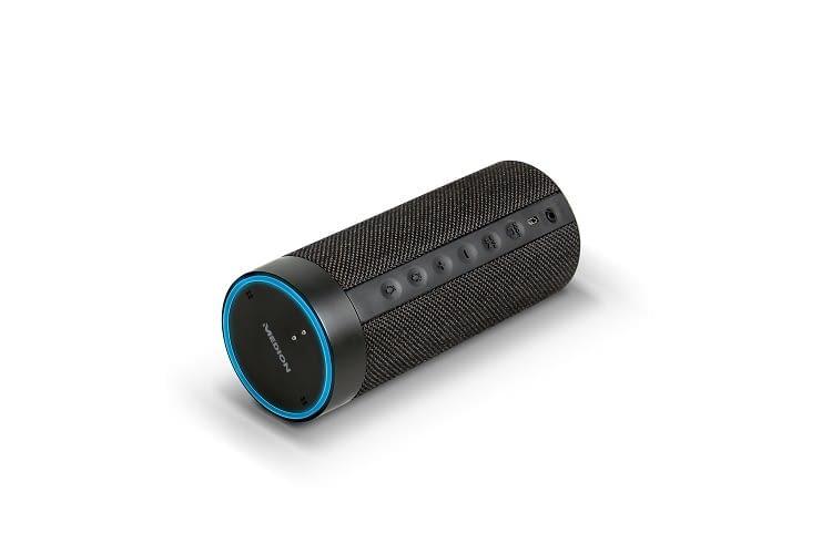 Der MEDION P61110 Lautsprecher sieht Amazon Tap ähnlich