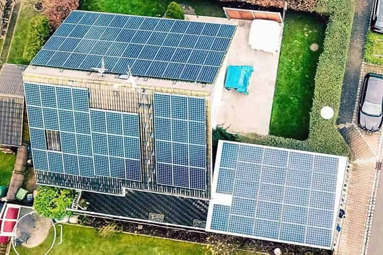 Sven Haehnels Solaranlage erzielt Spitzenleistungen von bis zu 34 Kilowatt