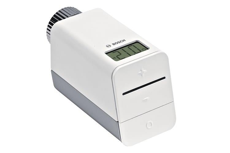Das Thermostat benötigt einen separat erhältlichem Bosch Smart Home Controller