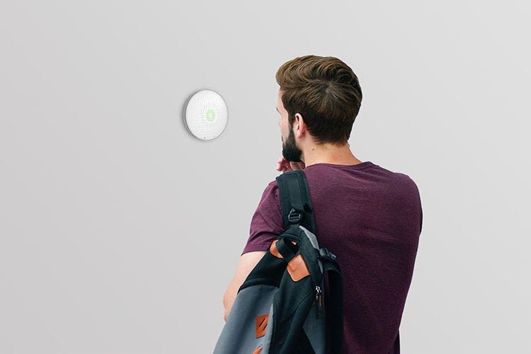 Airthings Wave misst die Radon-Belastung im Wohnraum
