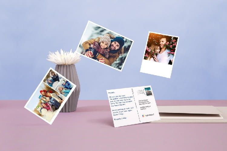 Bei MyPostcard können auch persönliche Fotos gedruckt werden