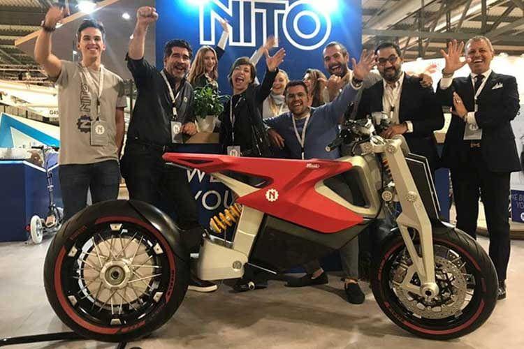 Das N4-Elektromotorrad von Nito soll 2020 erscheinen